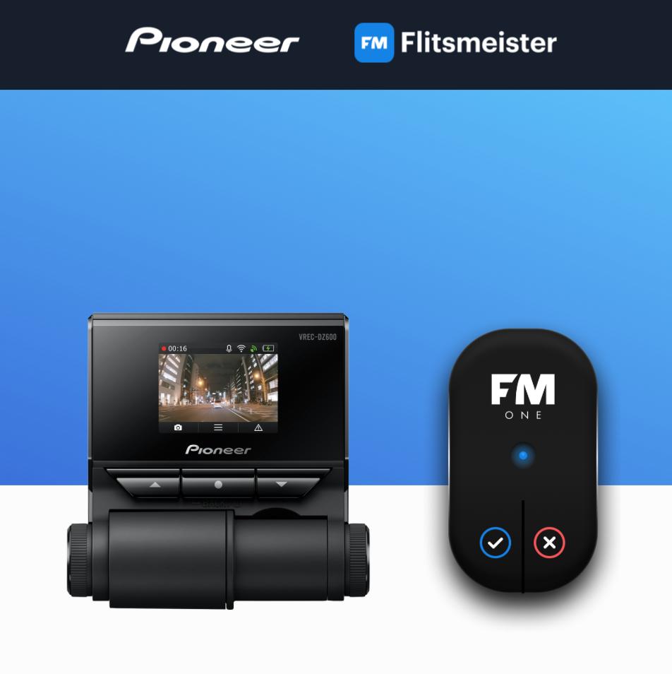 Pioneer Gratis Flitsmeister ONE